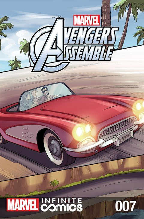 Marvel Universe Avengers Assemble Infinite Comic #7