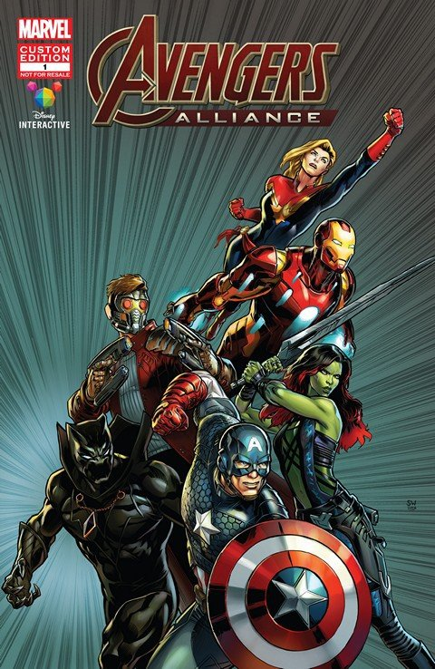 Marvel's Avengers Alliance #1