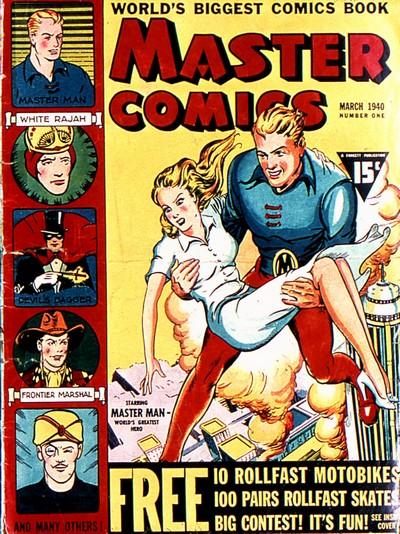 Master Comics #1 – 133 (1940-1953)