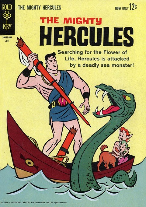 Mighty Hercules (Gold Key) #1 – 2