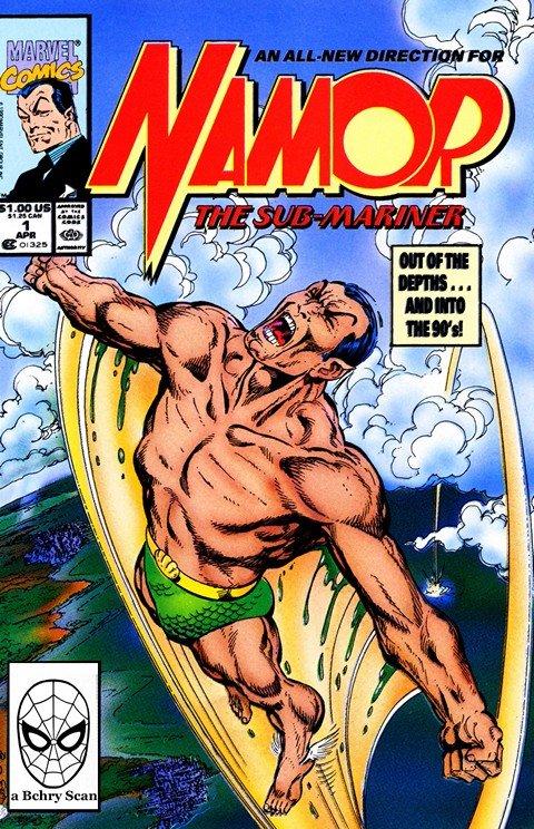 Namor, the Sub-Mariner Vol. 1 #1 – 62 + Annual #1 – 4 (1990-1995)