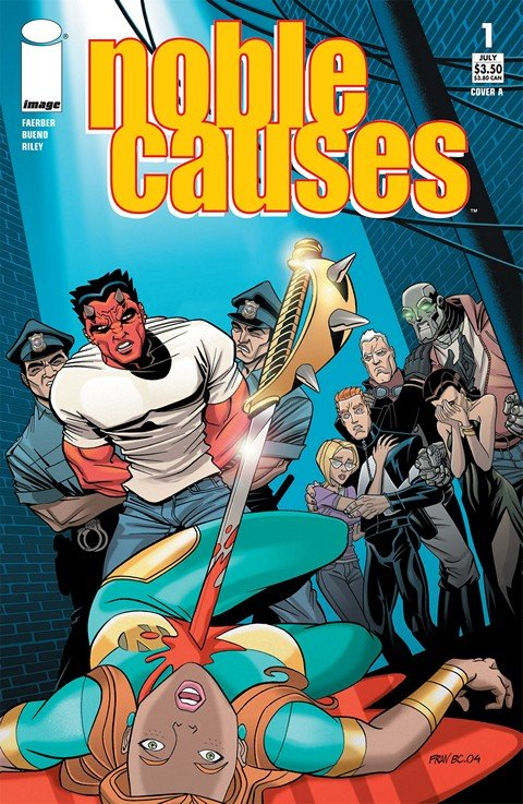 Noble Causes #1 – 40 + Extras (2001-2009)