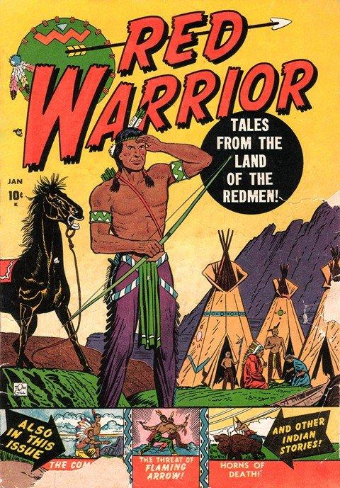 Red Warrior #1 – 6 (1951)
