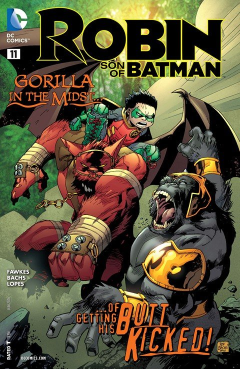 Robin – Son of Batman #11