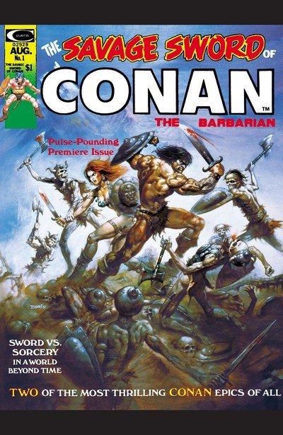Savage Sword Of Conan #1 – 235 + Annual (1974-1995)