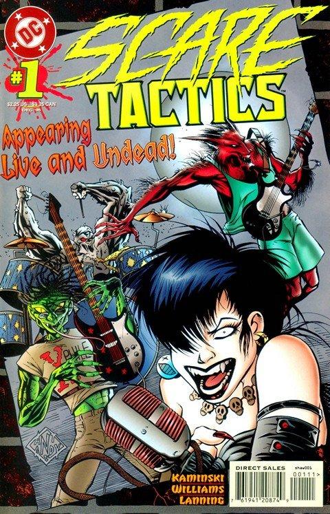 Scare Tactics #1 – 12 (1996-1998)