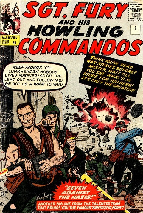 Sgt. Fury & His Howling Commandos #1 – 167