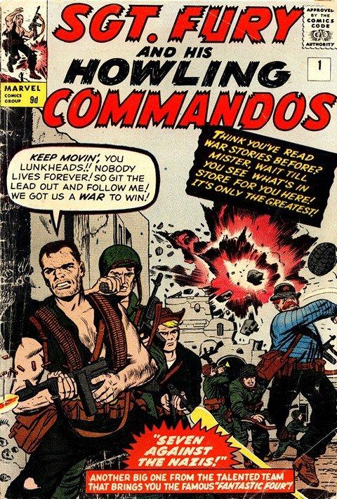 Sgt. Fury & His Howling Commandos #1 – 167