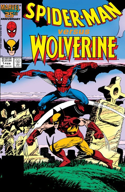 Spider-Man vs. Wolverine #1 – High Tide (1987)