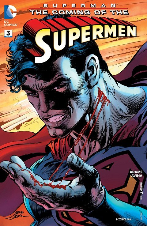 Superman – The Coming of the Supermen #3