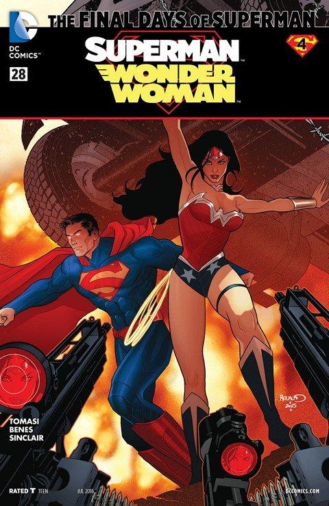 Superman-Wonder Woman #28