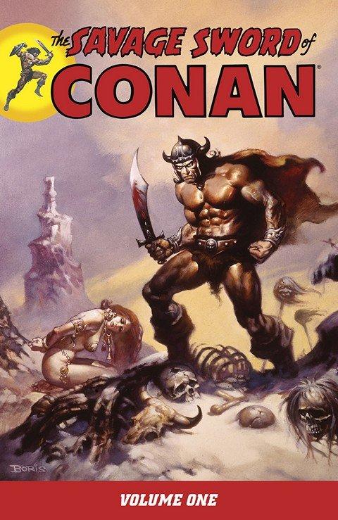 The Savage Sword of Conan Vol. 1 – 22 (2007-2016)