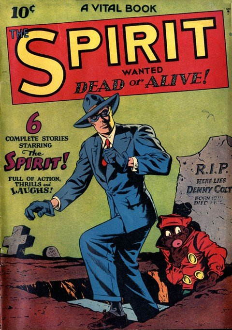 The Spirit #1 – 22 (Quality Comics)