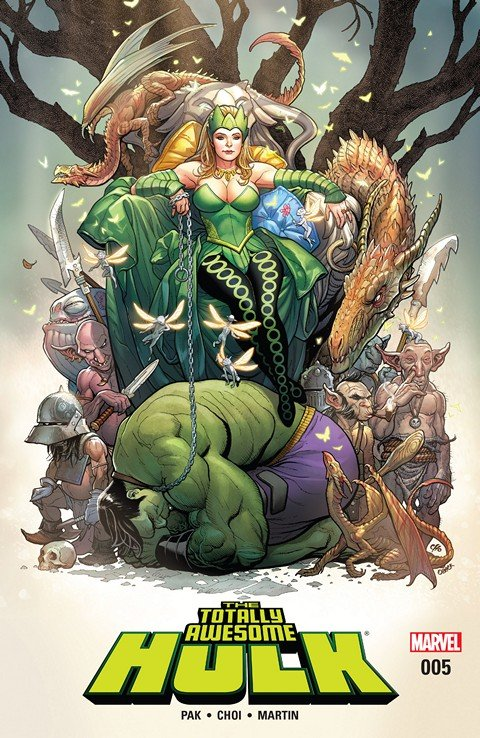 The Totally Awesome Hulk #5