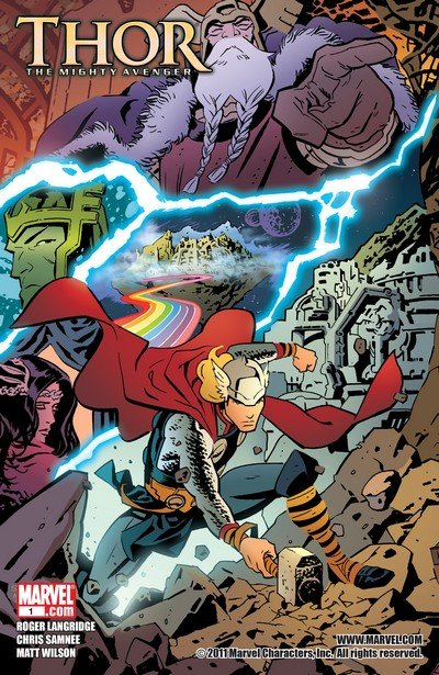Thor – The Mighty Avenger #1 – 8 (2010-2011)