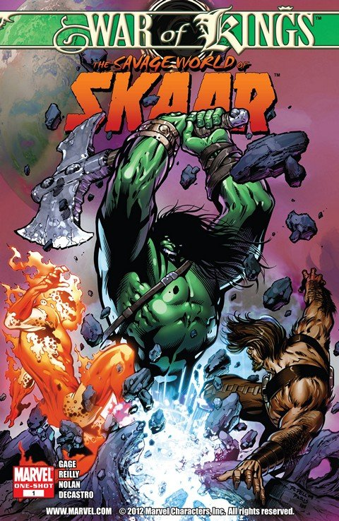 War of Kings – Savage World of Skaar #1 (2009)