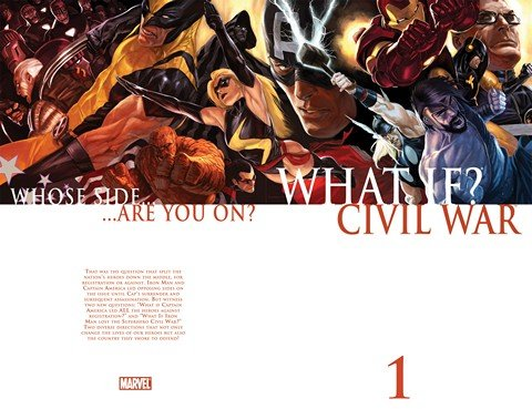 What If – Civil War #1