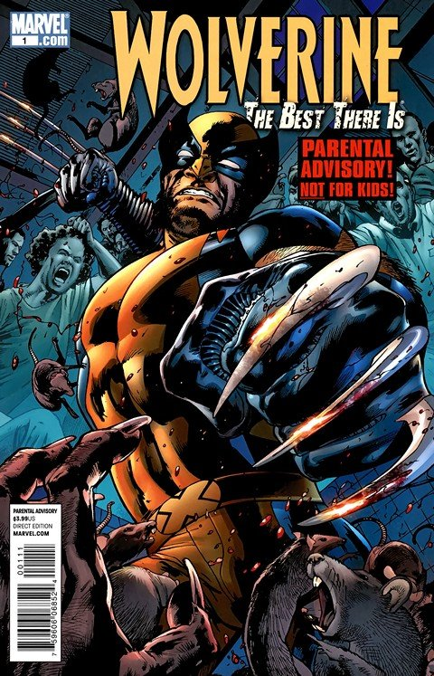 Wolverine – Best there Is #1 – 12