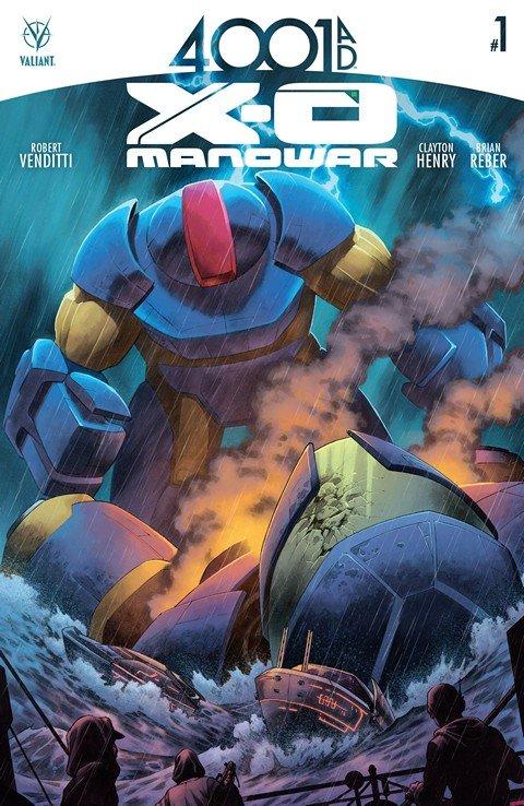 4001 A.D. – X-O Manowar #1