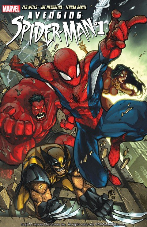 Avenging Spider-Man #1 – 22 + Annual