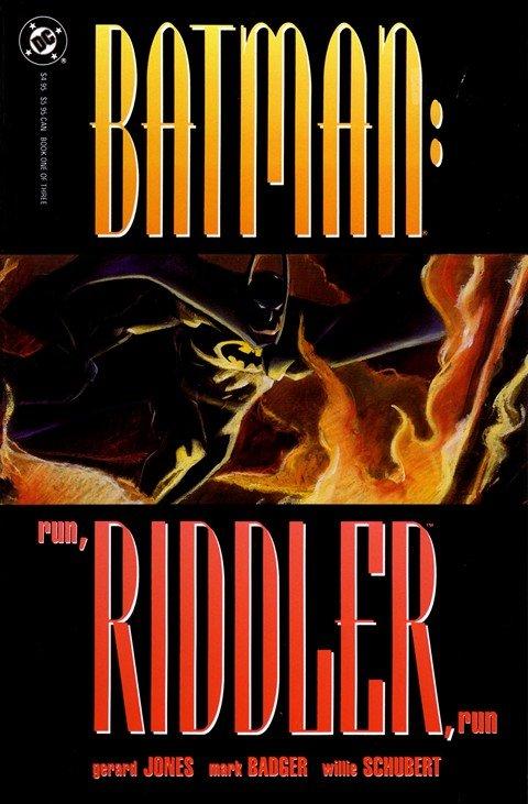 Batman – Run, Riddler, Run #1 – 3