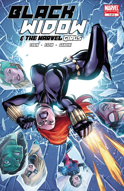 Black Widow and the Marvel Girls #1 – 4