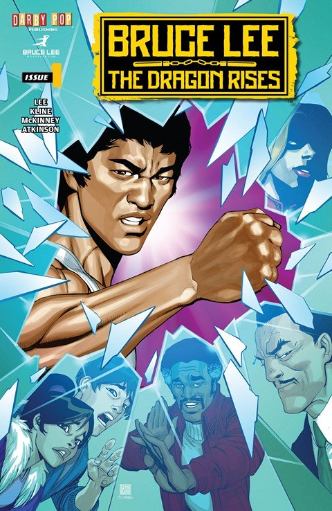 Bruce Lee – The Dragon Rises #1