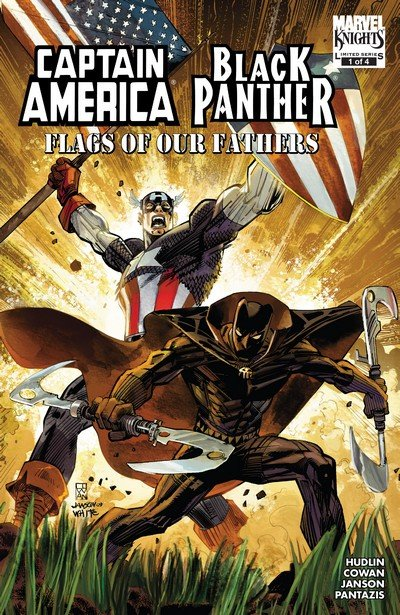 Captain America – Black Panther – Flags of Our Fathers #1 – 4 (2010)