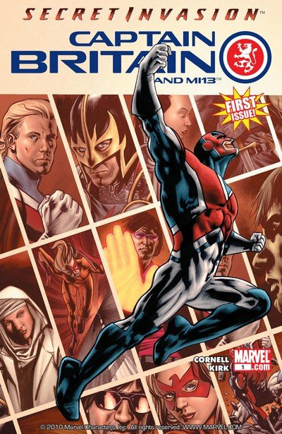 Captain Britain and MI – 13 #1 – 15 + Annual (2008-2009)
