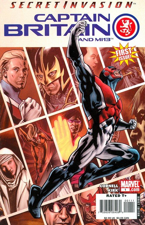 Captain Britain and MI 13 #1 – 15 + Annual