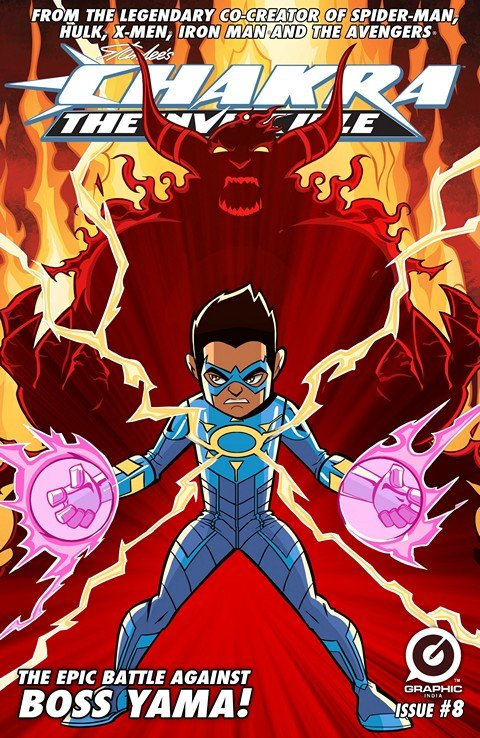 Chakra The Invincible #8