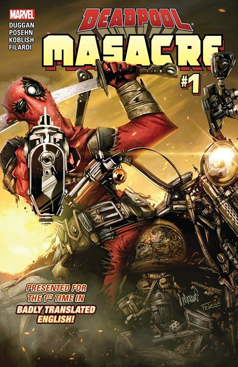 Deadpool – Masacre #1