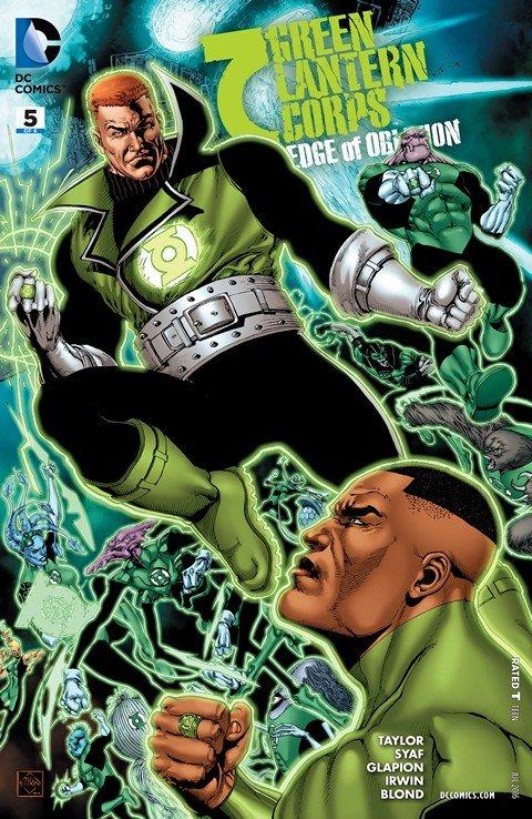 Green Lantern Corps – Edge of Oblivion #5