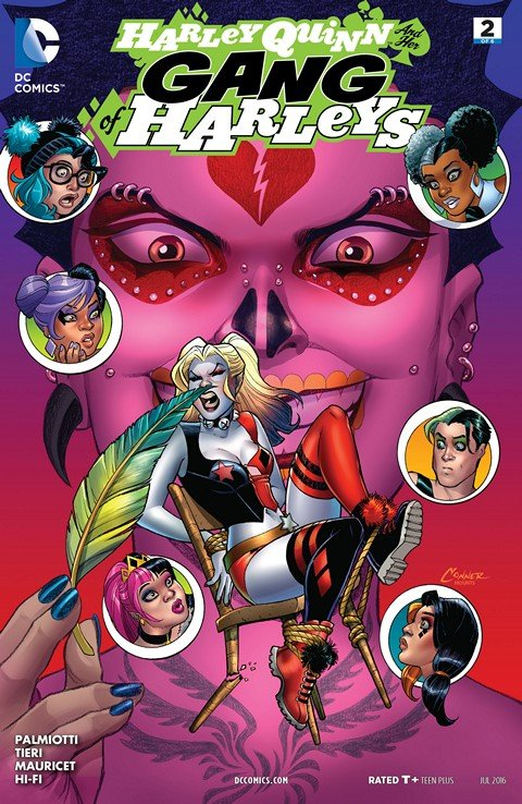 Harley Quinn and Her Gang of Harleys #2