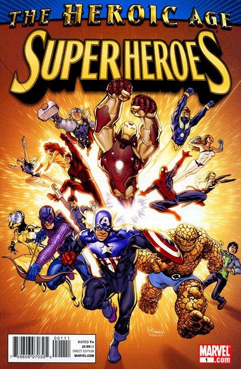 Heroic Age – Super Heroes + Villains