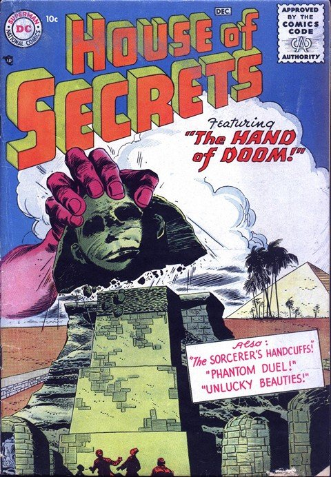House of Secrets #1 – 154 (1956-1978)