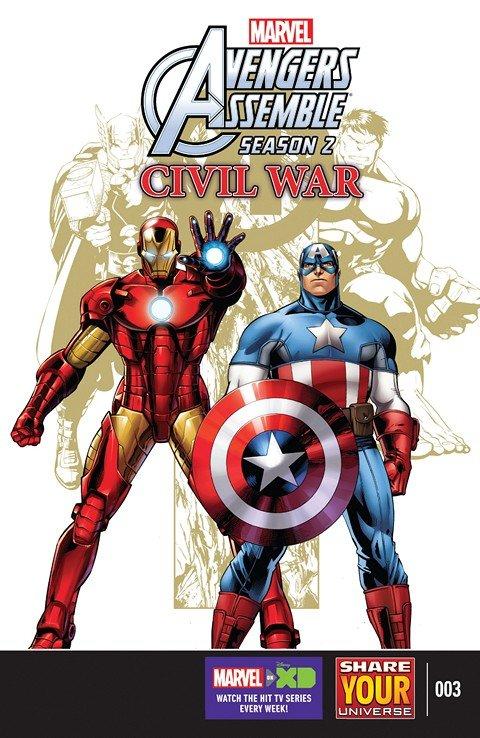 Marvel Universe Avengers Assemble – Civil War #3