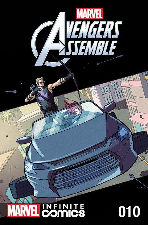 Marvel Universe Avengers Assemble Infinite Comic #10
