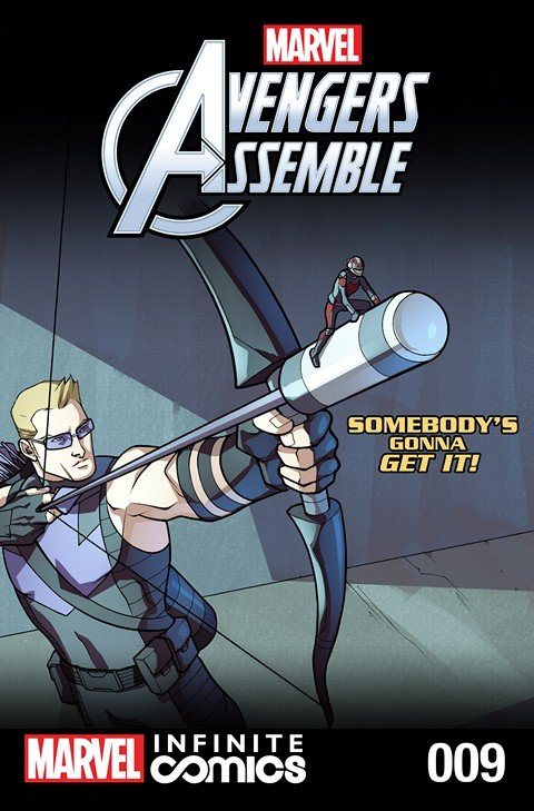 Marvel Universe Avengers Assemble Infinite Comic #9