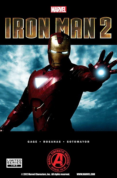 Marvel's Iron Man 2 Adaptation #1 – 2