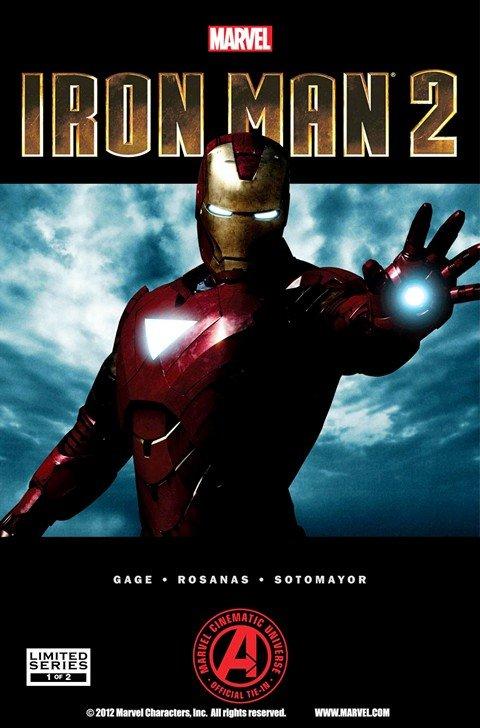 Marvel's Iron Man 2 Adaptation #1 – 2