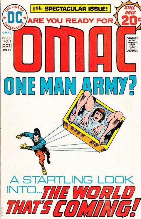 OMAC Vol. 1 #1 – 8