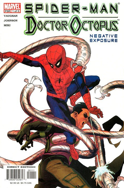 Spider-Man & Doctor Octopus – Negative Exposure #1 – 5
