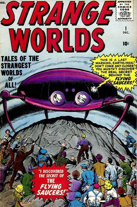Strange Worlds #1 – 5