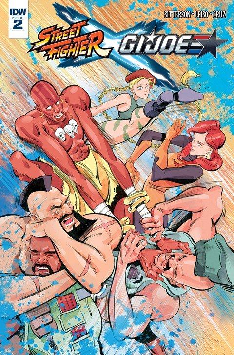 Street Fighter x G.I. Joe #2