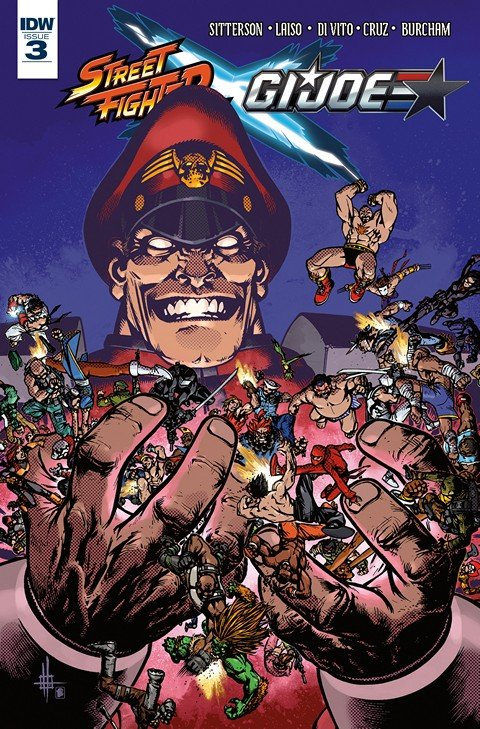 Street Fighter x G.I. Joe #3
