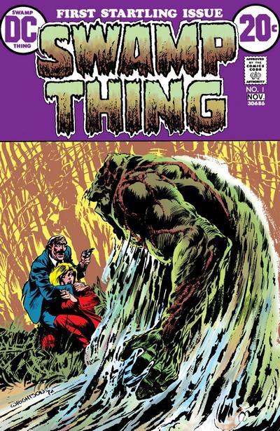 Swamp Thing Vol. 1 #1 – 25 (1972-1976)