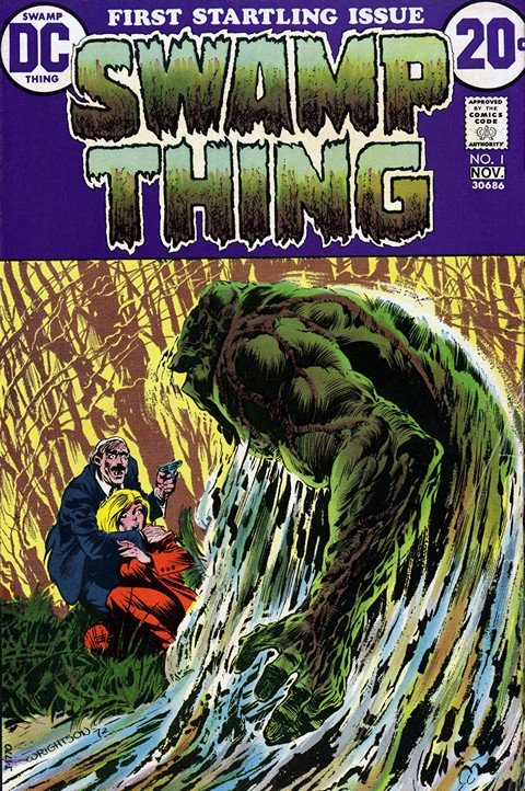 Swamp Thing Vol. 1 #1 – 25