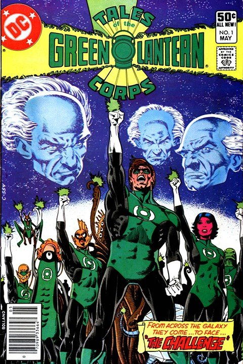 Tales Green Lantern Corps #1 – 3