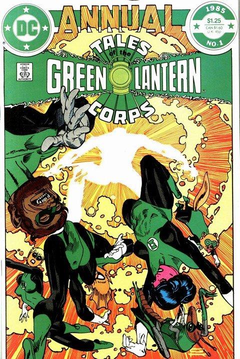 Tales Green Lantern Corps Annual #1 – 3